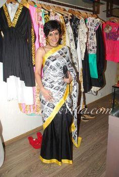 <3 this masaba saree