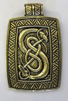 Loki of Urnes Viking Carving - embroidery pattern?