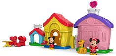 Fisher-Price Little People Magic of Disney Mickey and Minnie's House Playset Fisher-Price http://smile.amazon.com/dp/B00SO7HM2A/ref=cm_sw_r_pi_dp_i5bmwb17N9AYP