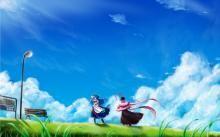 Anime Scenery wallpaper 1500x938