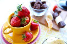 Chocolate-Strawberry Dessert Fondue