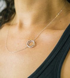 Silver Infinity Necklace by Lara Ismael Jewelry on Scoutmob