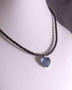 DECEMBER BIRTHSTONE: TANZANITE TURQUOISE ZIRCON Rock Candy Tanzanite Blue Heart of Glass by MatriarchbyFP on Etsy