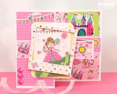 Today we are going to show you how to create a Z card fold alongside the bright and bubbly Whiz Kids papercraft collection! This on-trend design will be a real treat to open … Crafts To Do, Crafts For Kids, Paper Crafts, Craftwork Cards, Kids Z, Kids Cards, Design Trends, Card Stock, Fairy Tales
