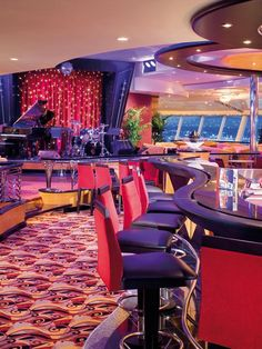 The Viking Crown Lounge on the Independence of the Seas