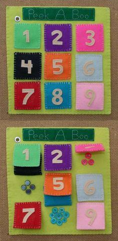 58 Best Ideas For Baby Diy Activities Quiet Books Diy Quiet Books, Baby Quiet Book, Felt Quiet Books, Diy Busy Books, Book Projects, Sewing Projects, Sensory Book, Quiet Book Patterns, Preschool Activities