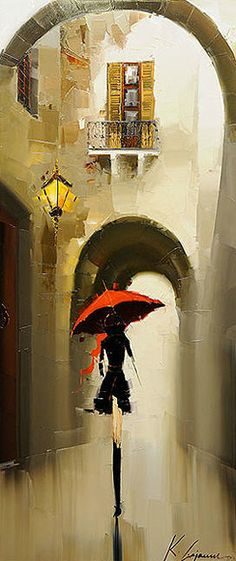 Art / Painting by Kal Gajoum  ❤