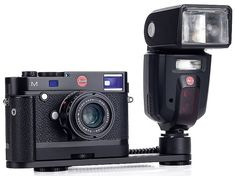 Leica-SCA-adapter-set-with-Leica-M-camera-and-flash