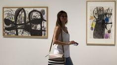Dibujos del Miró más libre llegan al Pompidou Málaga