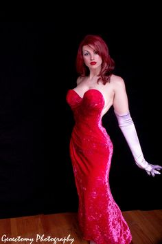 The impossible dress design is real! A beautiful cosplay! - 11 Jessica Rabbit Cosplays