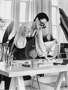 Elsa Peretti   photographed by Duane Michals   Vogue, December 1974