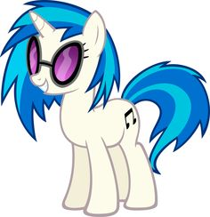 Hi! Ya probably know me by now, i'm vinyl scratch/dj pon-3!!! My daughter LOVES to jam with me too! I am adopted....
