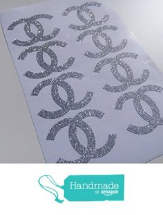 20 glitter chanel inspired stickers envelope seals wall decal CC coco chanel party decor removable wall stickers from EtagaDesigns https://www.amazon.com/dp/B01I438D9O/ref=hnd_sw_r_pi_dp_A3MJxb1TZB64W #handmadeatamazon