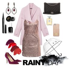 """""""Going out on a rainy day? Why not"""" by sparklingqueen ❤ liked on Polyvore featuring Vince, NLY Trend, Chanel, Essie, Marc Jacobs, Gucci, Loree Rodkin, Manolo Blahnik, MICHAEL Michael Kors and Kate Spade"""