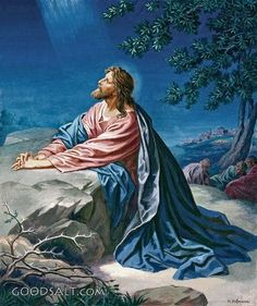 Agony In The Garden (the night before Jesus was Crucified)