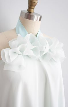 Retro Fashion, Fashion Show, Fashion Outfits, Womens Fashion, Fashion Tips, Silk Organza, Fabric Manipulation, Bridal Dresses, Designer Dresses
