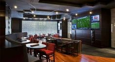 Best Places to Watch Sports in the DFW area. Photo courtesy of  Draft Media Sports Lounge