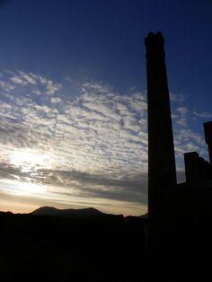 Rovine al tramonto