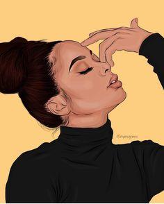 ideas for pop art girl badass Foto Cartoon, Cartoon Art, Black Art Painting, Black Artwork, Arte Dope, Dope Art, Black Love Art, Black Girl Art, Drawings Of Black Girls
