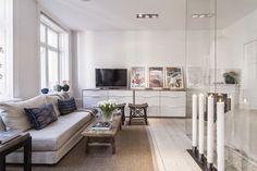 Licht en sfeervol! Lovely Home woonblog : Prachtig licht appartement in Stockholm