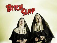 That's Renee O'Connor & Lucy Lawless from Xena doing a cameo as nuns.  Priceless.