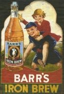 Irn Bru- original name was changed due to trade description act. There was no iron contained in iron brew hence change to Irn Bru!