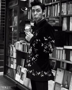 ice cream fan :: T.O.P of Big Bang for Vogue Korea Daesung, T.o.p Bigbang, Bigbang Members, Big Bang Top, Vogue Korea, 2ne1, Kpop, Got7, Sung Lee