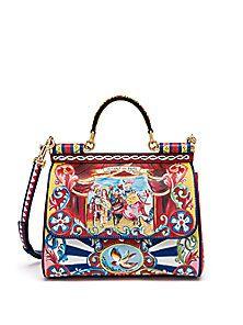 Dolce   Gabbana Medium Miss Sicily Puppet Bag b33f20ba444f6
