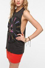 Truly Madly Deeply Serpent Eyes Muscle Tee