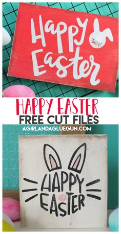 Today I have some fun free cut files for you–right on time for Easter (or maybe a little late since Easter is this week!) But either way-They are cute and fun and perfect for Easter buckets, wood signs, shirts or mugs!!! Grab some Adhesive vinyl or Heat transfer vinyl and get crafting! I have the …