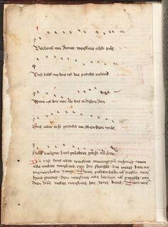 Beheim, Michael: Gedichte Österreich, 3. Viertel 15. Jh. Cgm 291  Folio 12