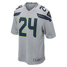 Nike Store. NFL Seattle Seahawks (Marshawn Lynch) Men's Football Home Game Jersey (3XL-4XL)