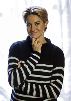 """Shailene Woodley photographed by Mario Anzuoni in Los Angeles, California October 20, 2014. Shailene Woodley poses for a portrait while promoting the upcoming movie """"White Bird in a Blizzard""""."""