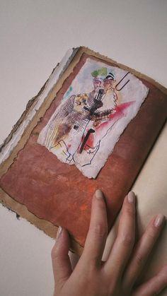 Journal Paper, Book Journal, Bullet Journal, Cool Notebooks, Paper Cover, Paper Clip, Scrapbook Images, Collage Art Mixed Media, Junk Art