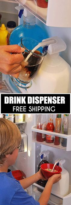 Electric Drink Dispenser - ⭐⭐⭐⭐⭐ (5/5)  The Electric Drink Dispenser turns any beverage container into an easy-to-use drink dispenser that eliminates the need to lift heavy bottles and also prevents spills, drips and waste.  Currently 50% OFF with FREE Shipping!