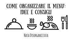 come organizzare il menù
