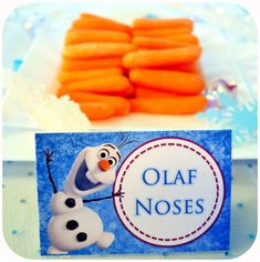 Carrot sticks...a perfect addition to any school lunch, and a simple tie-in to Frozen! #WhySchoolRules