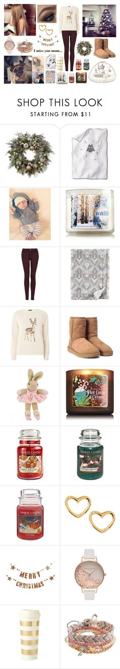 """Christmas Tree Installation In Family 🎄🎁"" by louisericoul ❤ liked on Polyvore featuring Frontgate, Mamas & Papas, Topshop, Dorothy Perkins, GET LOST, UGG, Carter's, Monsoon, Yankee Candle and Marc by Marc Jacobs"