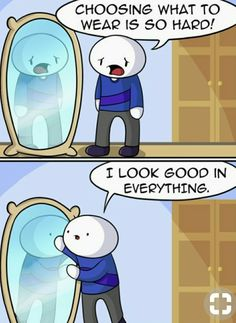 I need this confidence Funny Cartoon Memes, Funny Video Memes, Really Funny Memes, Funny Animal Memes, Stupid Funny Memes, Funny Relatable Memes, Haha Funny, Funny Cute, Theodd1sout Comics