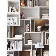 20 best Bookshelves and Shelving Systems images on Pinterest ...