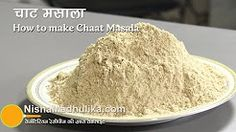 recipe of chaat masala in hindi - YouTube