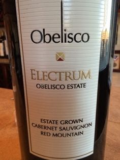 Discovered Obelisco wine! Took home the Malbec for a special night with friends! #Wawine #wine #woodinville