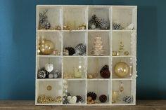 Elabora tu caja de tesoros, agrega elementos o recuerdos que llenen de buenas energías tu hogar. Shadow Box, Shelving, Home Decor, Be Nice, The Originals, Crates, Xmas, Home, Blue Prints