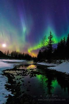 Aurora Borealis – The Northern Lights. A beautiful mixture of co… Aurora Borealis – The Northern Lights. Beautiful Sky, Beautiful Landscapes, Beautiful Places, Beautiful Pictures, Beautiful Nature Photos, Simply Beautiful, Amazing Places, Science And Nature, Amazing Nature
