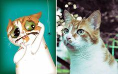 IMÁGENES: Chris Beetow crea retratos de animales capturando sus personalidades, tomando en consideración sus hábitos, miedos, y como los ven sus dueños.