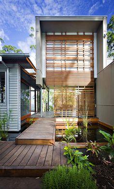'green' contemporary Australian home in Peachester