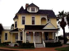 """Hoopes House in Rockport, Texas. Built in the 1890's."""" A favorite place to stay! Great food!"""