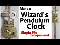 Make a Wizards Pendulum Clock - YouTube