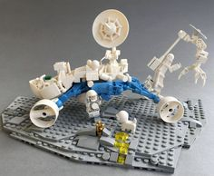 https://flic.kr/p/S4AA5x | Space Buddies | Febrovery fail :) Next time i read the rules bevore i built. More then 150 parts OHNOOOOO next view www.flickr.com/photos/131098005@N08/32705025552/in/datepo...