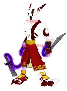 This is a requested image from an acquaintance. An Igarax version of Lord Kratos from God of War.